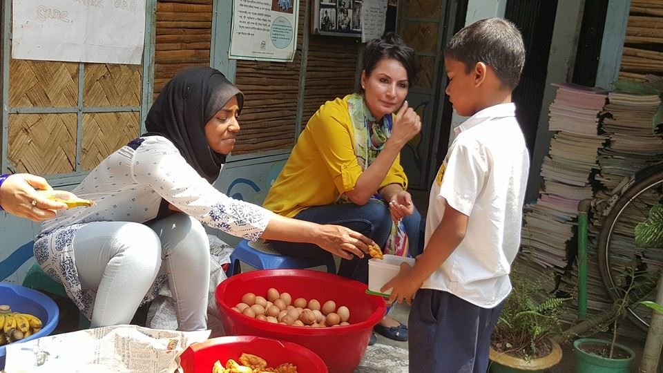 The Shingaras of Nadiya: The Great British Bake Off Champ Teams Up With Thrive to Deliver Special School Lunch Snacks