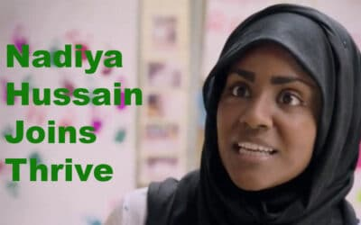 Nadiya Hussain Joins Thrive