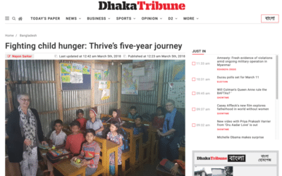 Thrive Featured on Dhaka Tribune